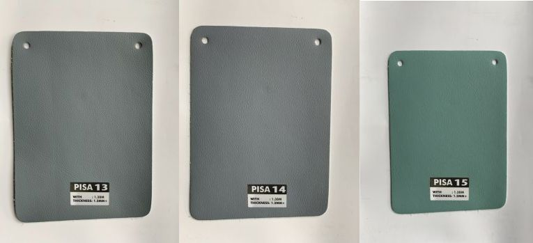 bảng màu bọc ghế sofa pisa microfiber