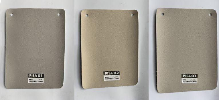 bảng mã màu da bọc ghế sofa microfiber pisa