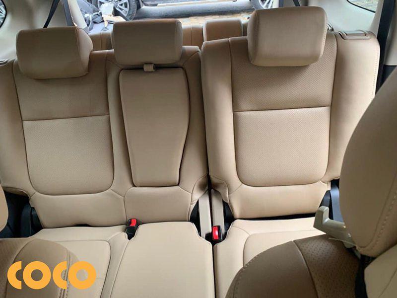 bọc ghế da ô tô 7 chỗ bằng microfiber