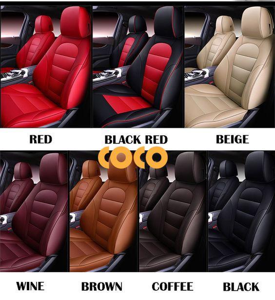 màu ghế da ô tô