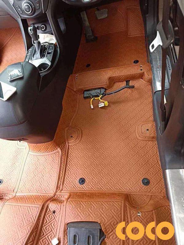 lót sàn da ô tô