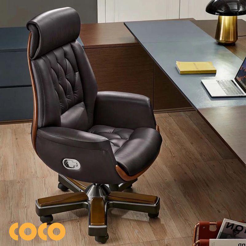 ghế da giám đốc nên dùng loại nào?