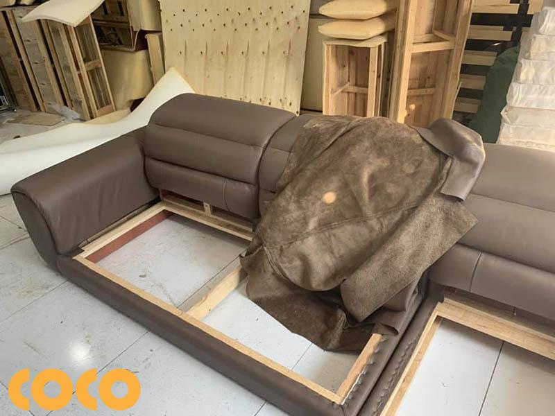 da công nghiệp làm sofa